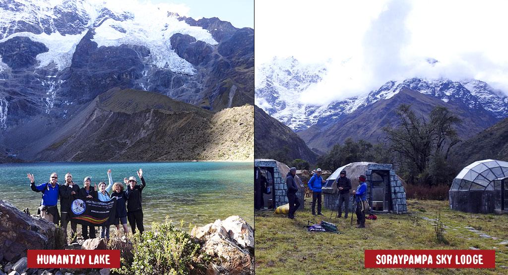 """Day 1: Cusco - Soraypampa """"Lodge del Cielo"""" campsite."""