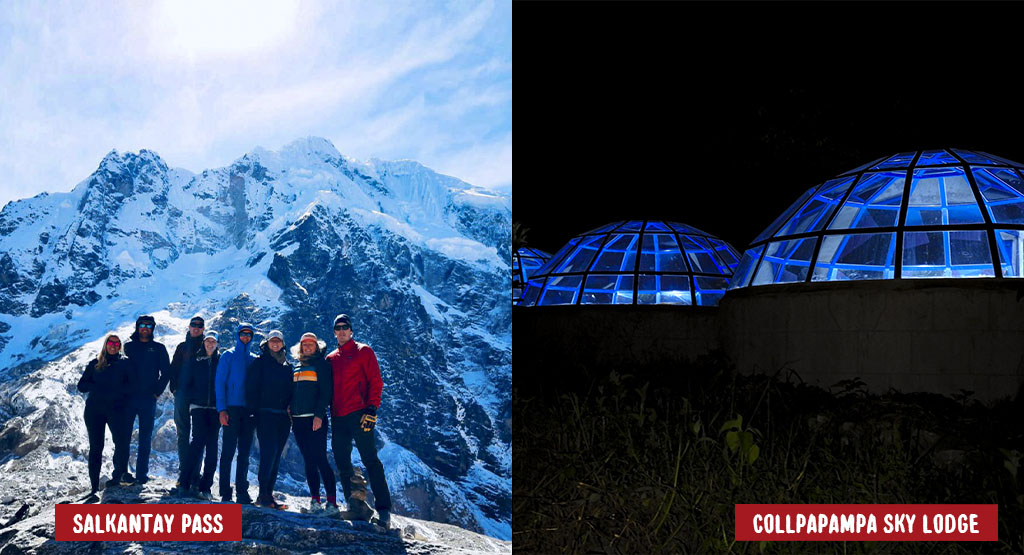 """Day 2: Crossing the Salkantay Pass """"challenge day"""""""