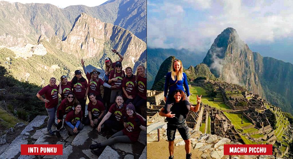 """Day 4: Trekking """"Wiñayhuayna – Inti Punku & Machupicchu guided Tour"""""""