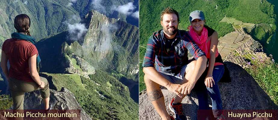Day 3: Machupicchu Second entrance to Machupicchu Sacred mountain or Huaynapicchu Sacred Mountain.