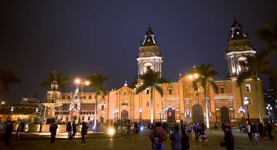 Day 1: LIMA: TRADITIONAL CITY TOUR