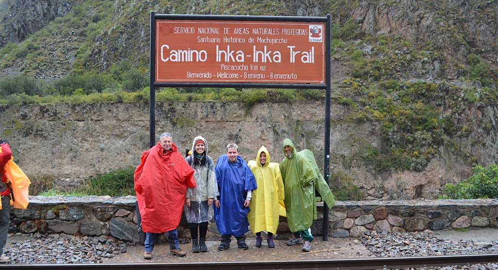 """Day 13: TRANSFER BY ITEP VAN FROM  CUSCO TO KM 82 """"INKA TRAIL ENTRANCE"""""""