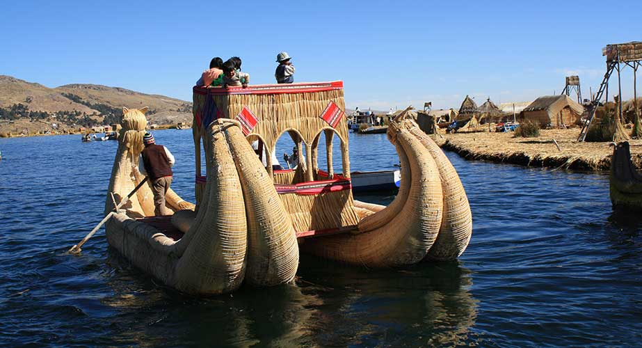 Day 9: PUNO: FULL DAY TO TITICACA  LAKE (UROS & TAQUILLE ISLANDS)