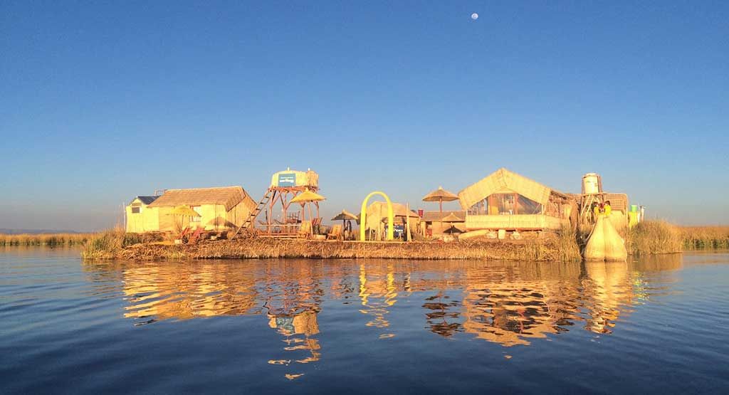 Day 9: PUNO:  OVERNIGHT IN UROS - FLOATING ISLANDS IN LAKE TITICACA LAKE.