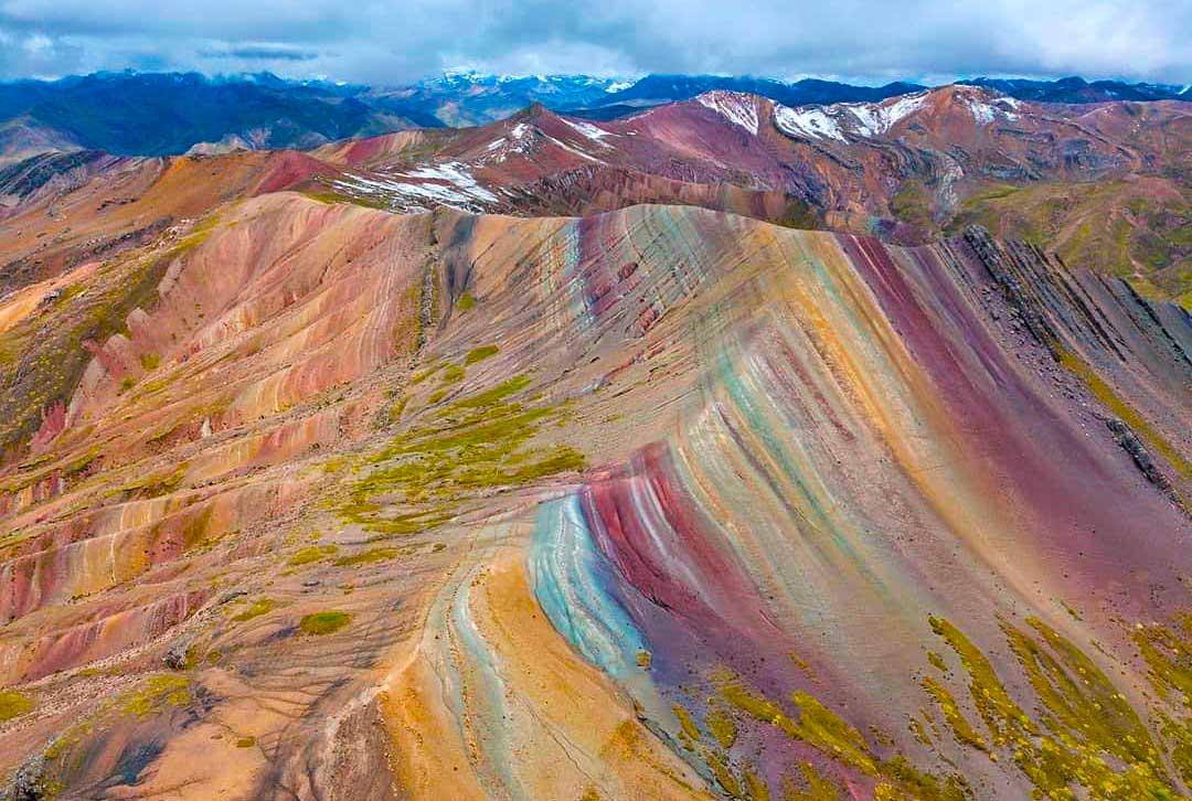 "Day 1: Cusco – Checacupe ""Palcoyo Rainbow Mountain"" – Full Day."