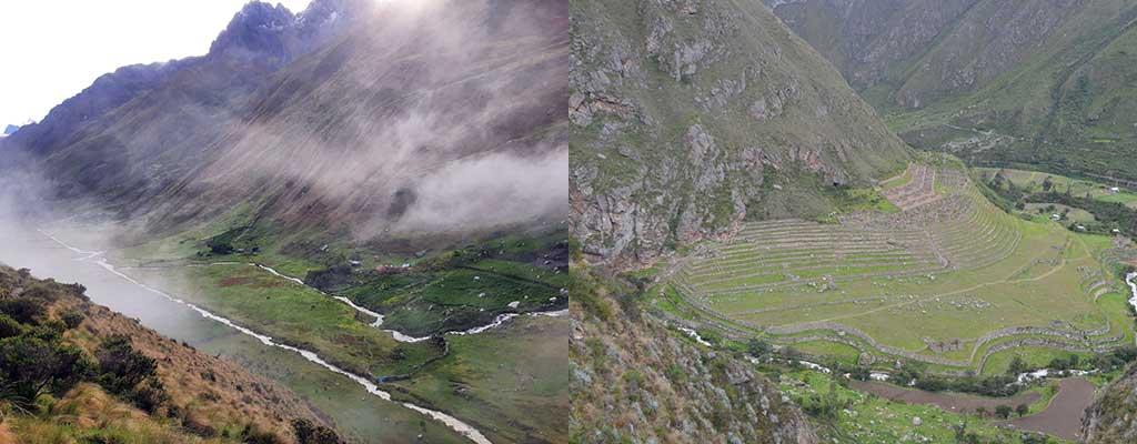 Day 3: Acopampa – Paucarcancha - Wayllabamba – Meskay