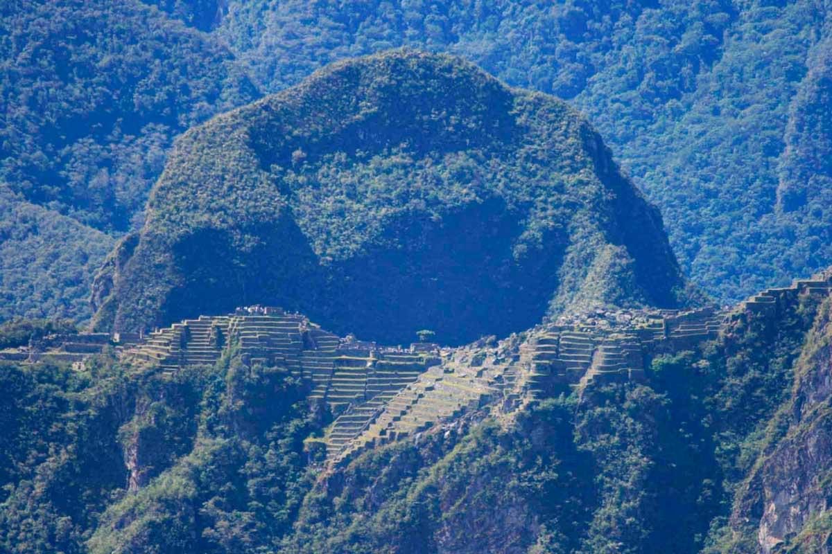 """Day 3: Inca Trail by Llactapata """"1st view Machupicchu"""""""