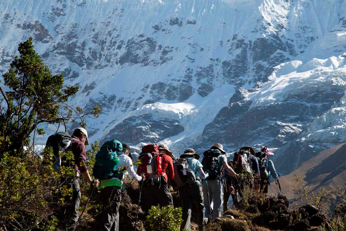 """Day 2: Soraypampa – Salkantay Passa """"After middle day, return to Cusco"""""""